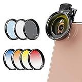 Apexel Kameraobjektiv-Filter-Set, 52 mm, für Nikon, Canon, GoPro, iPhone und alle Handys
