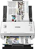 Epson WorkForce DS-410 Dokumentenscanner (DIN A4, 600dpi, USB 2.0, Beidseitiges Scannen in einem...