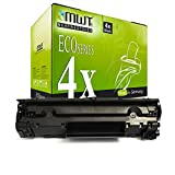 4X MWT Toner für Canon I-Sensys LBP 6000 6020 6030 b w ersetzt 3484B002 725