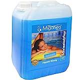 Miganeo Algezid schaumfreie Algenverhütung Algizid mit Klareffekt für Pool (5L)