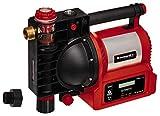 Einhell Hauswasserautomat GE-AW 1246 N FS (1.200 W, Wasserfüllanzeige, 4600 L/h, 5 bar Förderdruck, Schmutz-/Sauganzeige, Trockenlaufsicherung, Brühschutz, Vorfilter mit Rückschlagventil, Flow-Sensor)