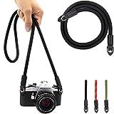 Lens-Aid Kameragurt aus Seil: Nacken- BZW. Schultergurt geeignet für Kameras von Canon, Nikon,...