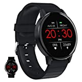 Smart Watch, Fitness-Tracker Mit Herzfrequenzmesser, Aktivitäts-Tracker Mit 1,3-Zoll-Touchscreen, Wasserdichte IP67-Schrittzähler-Smartwatch Mit Schlafmonitor, Schrittzähler Für Frauen Und Männer,B