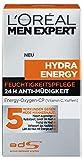 L'Oreal Men Expert Hydra Energy 24H Anti Müdigkeit, 50ml: Feuchtigkeitspflege für den Mann mit Vitam C