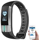 Newgen Medicals Uhr mit Blutdruckanzeige: Fitness-Armband mit Blutdruck-, Herzfrequenz- und...
