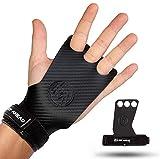 REP AHEAD® Hero Grips - Extra starker Halt - Innovative Fitness-Handschuhe für Crossfit, Fitness, Gym, Gewichtheben, Bodybuilding, Kraftsport, Turnen, Calisthenics