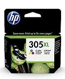 HP 3YM63AE 305XL Farbe Original Druckerpatrone mit hoherReichweitefürHPDeskJet,HPDeskJetPlus,HPENVY,HPENVYPro