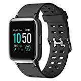 YAMAY Smartwatch,Fitness Armband Uhr Voller Touch Screen Fitness Uhr IP68 Wasserdicht Fitness...