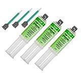 Top Pox 3x 25g Epoxidkleber 5Min Klebeharz in Dosierspritze + Mischdüsen - Reparaturharz - Zweikomponentenkleber (3 Stück)