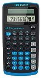 Texas Instruments TI 30 ECO RS Taschenrechner (10-stellige Display, solarbetrieben, Blauer Engel)...