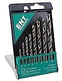 ENT 09248 8-tlg. HSS-G Holzbohrer-Set - 3-10 mm - geschliffener HSS-Holzsprialbohrer