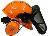 Forst-Helm von 3M Kopfschutzkombination G3000M (Gehörschutz und Gesichtsschutz)