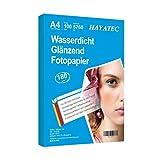 100 Blatt Photopapier A4 hoch glänzend tintenstrahldrucker 180g/m² fotopapier Fotokarten...