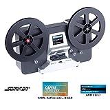 Somikon Filmscanner: HD-XL-Film-Scanner & -Digitalisierer für Super 8 & 8 mm, bis 7'-Rollen (Super...