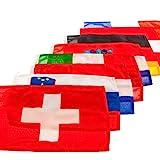Mare Mosso Gastlandflagge nautische Flagge Bootsflagge Länderflagge Fahne, Land:Frankreich;Maße:30 x 45 cm