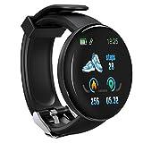 LZW Multifunktionale Intelligente Uhr, Sport-Tracker, Wasserdicht, Rund Bluetooth-Uhr, Männer Und...