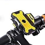 Yuehuam Universal-Fahrradtelefonhalter Anti-Rutsch-Anti-Shake-Motorrad-Fahrradlenkerhalterung...
