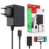 Elyco Netzteil für Switch, Ladegerät für Nintendo Switch Ladekabel 1.5m PD Typ-C Schnell Ladegerät Charger für Switch/Docking Station Andriod Handy und Andere USB C Geräte, TV-Modus unterstützt