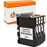 Bubprint Kompatibel Druckerpatronen als Ersatz für Ricoh GC-41 für Aficio SG2100N SG3100SNw SG3110DN SG3110DNw SG3110N SG3110SFNw SG3120 SG7100DN SG-K3100DN Set 4er-Pack