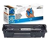 1x Toner ersetzt HP Laserjet Q2612a 12A M1005MFP M1319F MFP 1010 1012 1015 1018 1020 1022 3015 3020 3030 3050 3052 3055 Canon LBP2900 LBP2900i - Black 2.000 Seiten