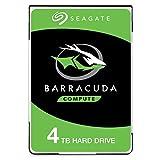 Seagate BarraCuda 4 TB HDD Festplatte intern (6,35 cm (2,5 Zoll), 15 mm dünn, 5400 U/Min, 128 MB...