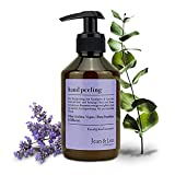 Jean & Len Hand Peeling | Made in Germany | Veganes Körper Peeling für angenehme Feuchtigkeitspflege | Beruhigender Duft mit Eukalyptus & Lavendel | Für Damen und Männer | 250 ml Body Scrub