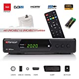 Opticum SBOX Plus - Sat-Receiver HD Unicable - Media-Player 1080P Full-HD Digitalreceiver DVB-S/S2 -...