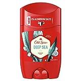 Old Spice Deep Sea Deodorant Stick   50ml   Deo Stick Ohne Aluminium Für Männer   Männer Deo Mit Langanhaltendem Duft