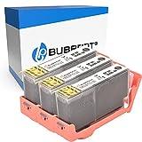 Bubprint Kompatibel Druckerpatronen als Ersatz für HP 364 XL 364XL für DeskJet 3070A 3520 OfficeJet 4620 4622 PhotoSmart 5510 5520 5524 6510 6520 7510 7520 B109-a B110 B110a C310a Schwarz 3er-Pack