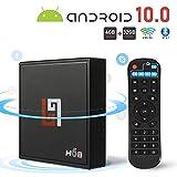 Android 10.0 TV Box Smart Media Box 4GB RAM 32GB ROM H616x64 Quad Core Innovaprise Bluetooth 2.0x3Pcs WiFi 2.4G & 5G Ethernet Set Top Box Support 4K Ultra HD Internet Video Player