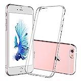 DOSMUNG Hülle für iPhone 6 iPhone 6S, Schutzhülle für iPhone 6 iPhone 6S, Ultra Dünn Clear Silikon Gel TPU Soft Handyhülle, Anti-Kratz TPU Case Cover für iPhone 6/6S (Transparent)