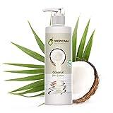 Tropicana Oil Vitaminreiche Bio feuchtigkeitsspendende Kokosöl-Körperlotion - strahlend jugendliche Haut mit natürlicher Sheabutter und Mandelöl