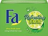 FA Festseife Refreshing Lemon mit zitrus-frischem Duft, 1er Pack (1 x 100 g)