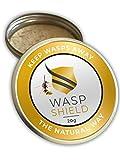 WASP SHIELD Wespenabwehrmittel I 100% Natürliche Wespenvertreibung I Ohne Insektizide I Kein direkter Hautkontakt erforderlich I Alternative zu tötenden Wespenfallen