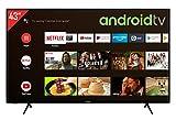 Telefunken XU43AJ600 43 Zoll Fernseher / Android TV (4K Ultra HD, HDR, Triple-Tuner, Smart TV, Bluetooth) [Modelljahr 2021]