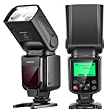 Neewer NW-670 TTL Flash Blitz Blitzgerät mit LCD-Anzeige für Canon 7D Marke II,5D Marke II...