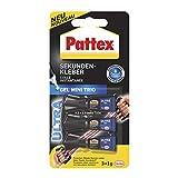 Pattex Sekundenkleber Ultra Gel Mini Trio, extra starker & flexibler Superkleber in 3 Tuben, Sekundenkleber Gel für z. B. Gummi, Leder, Holz, 3 x 1g