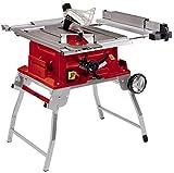 Einhell Tischkreissäge TE-CC 250 UF (max. 2000 W, Ø250 x ø30 mm Sägeblatt, 0-78 mm Schnitthöhe, Parallel- und Quer-/Winkelanschlag)