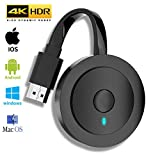 MPIO Wireless HDMI 4K HDR WiFi HDMI Dongle Streaming für Android/iOS/Windows/Mac OS-Laptop, Telefon, Tablet, PC zu HDTV/Monitor/Projektor (Unterstützung Miracast, DLNA, Airplay)