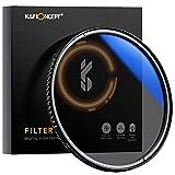 K&F Concept Pro 52mm Slim Zirkularer Polfilter Polarisationsfilter CPL Filter Cirkular Polfilter...