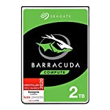 Seagate BarraCuda 2 TB interne Festplatte HDD – 2,5 Zoll SATA 6 Gb/s 5400 U/min 128 MB Cache für...