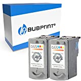 Bubprint Kompatibel Druckerpatronen als Ersatz für Canon CL-41 für Pixma IP1600 IP1700 IP2200 IP2500 IP2600 MP140 MP150 MP160 MP170 MP180 MP190 MP210 MP220 MP450 MP450X MP460 MX300 Color 2er-Pack