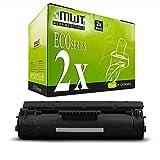 2X MWT Toner für Canon LBP 1110 1120 22 250 350 5585 800 810 SE X i ersetzt 1550A003