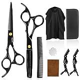 Peradix Haarschere Scheren Sets Premium Scharfe Friseurscheren Friseurscheren aus Edelstahl zum Ausdünnen und Strukturieren, Modellieren Professionelle Friseur Sets