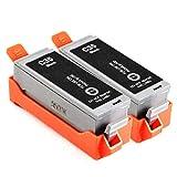 2X INBUSCO® Tinten Patronen kompatibel mit Canon Pixma IP100, IP 100 Portable, IP100v, IP110, Mini 260 2X schwarz, Druckerpatronen, Tinte Canon, NEUWARE! ORIGINAL VERPACKT!