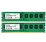 Samsung 4GB Dual-Channel KIT (2X 2GB) DDR2 800Mhz PC2-6400 240pin Desktop Arbeitsspeicher RAM Memory...