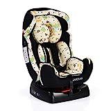 Kindersitz Guardian Gruppe 0/1/2 (0-25 kg) BAB008 mit Kopfpolster von 0 bis 7 Jahre schwarz
