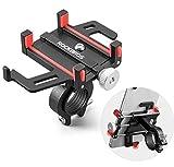 ROCKBROS Fahrrad Motorrad Handyhalterung für 4.2-6.8 Zoll Smartphone 360° Drehbar Ebikes Halterung für Lenker 22.2 bis 31.8mm Universal