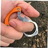 PiniceCore Outdoor-Camping-überlebens-Werkzeuge Multifunktions-schlüsselkette/Ring/Schnalle EDC Multi Werkzeug Auto Rettung Glasbrecher (zufällige Farbe)