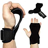 Netrox Copra Versa Power Crossfit Powerlifting Pull ziehen Gripps Straps Grips Fitness Sport Training Handschuhe Trainingshandschuhe Sporthandschuhe Fitnesshandschuhe Home Workout (L)